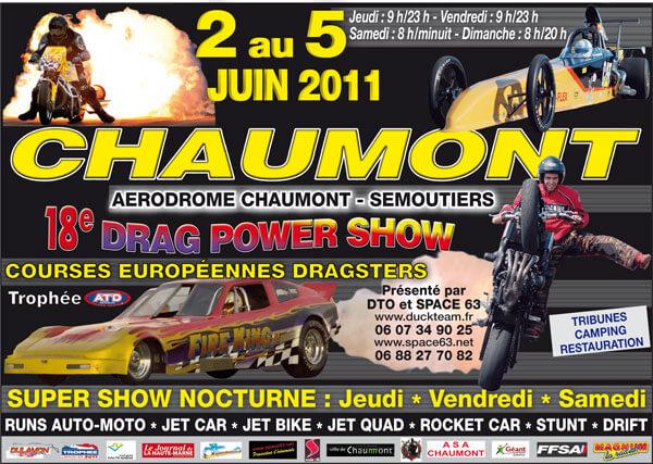 Affiche Chaumont juin 2011